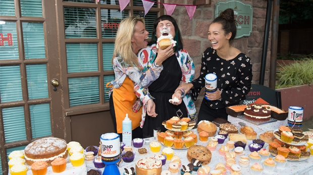 Hollyoaks stars Stand Up To Cancer