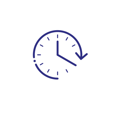 Time arrow icon