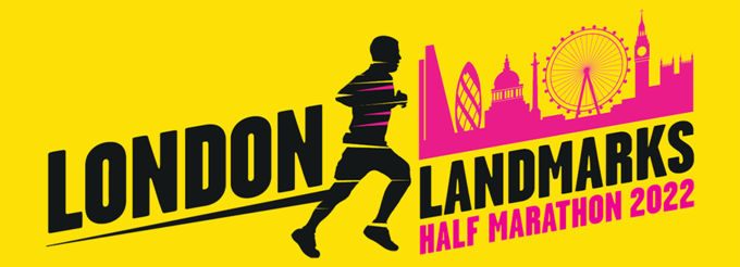 London Landmarks Half Marathon 2022 Logo