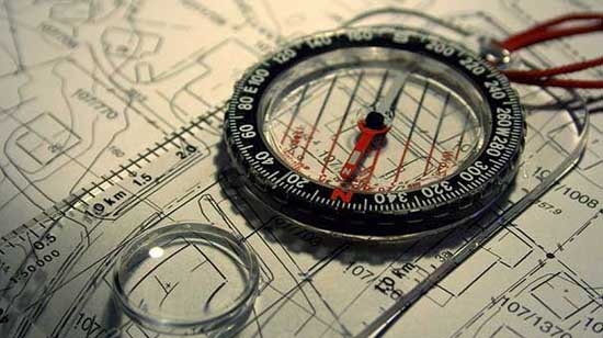 Map and compass image from Flickr