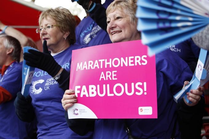 Cheering Volunteers - Virgin Money London Marathon - 22nd April ...