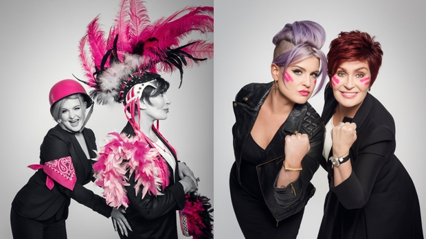 Sharon and Kelly Osbourne unite with Cancer Research UK's Race for Life.
