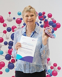 Professor Fran Balkwill 2017 Inspiring Leadership in Research Engagement winner