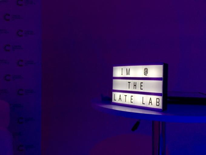 Late Lab Light box