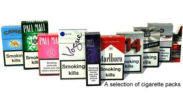 Tobacco packages