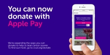 Donate with Apple Pay