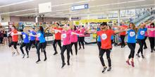 Tesco Dance Beats involved thousands of Tesco colleagues, members of the public, charity  representatives and celebrities throughout June and July.