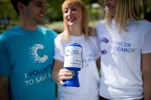 Fundraising at Cancer Research UK.