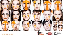 Zoella, Niomi Smart, Marcus Butler, Oli White, Niki and Sammy, Pixiwoo, Jim Chapman, Chai Cameron, The Mandeville Sisters, Alfie Deyes, Stuart Ashen, Sorted Food, Spencer FC and Dan and Phil Stand Up To Cancer with YouTube
