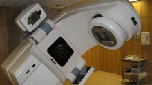 A linear accelerator (via Wikimedia Commons)