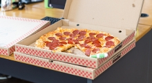 this is a picture of a pizza