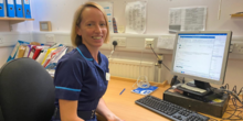 Image of Tracey Crowe, lead nurse for paediatric oncology research at Royal Marsden Hospital