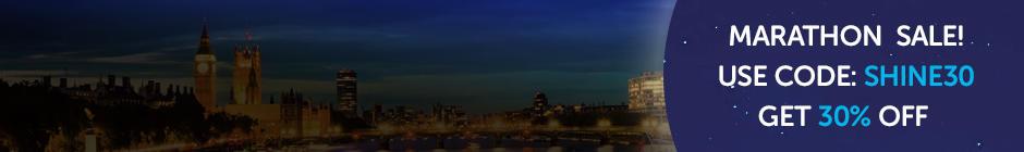 Shine Night Walk London Marathon sale now on!