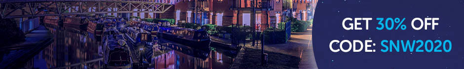 Shine Birmingham skyline and 30% off 2020 entry using code SNW2020
