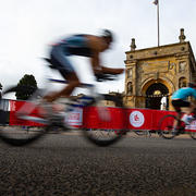 Blenheim Palace Triathlon Cylist