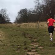 Runner on Box Hill