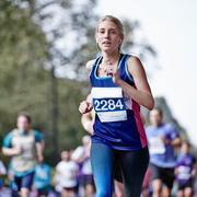 Cancer Research UK runner at Royal Parks Half Marathon