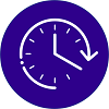 icon representing time