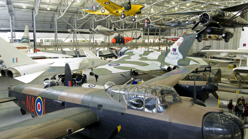 Duxford Air Museum, venue for the International Oesophageal Cancer Symposium Gala Dinner