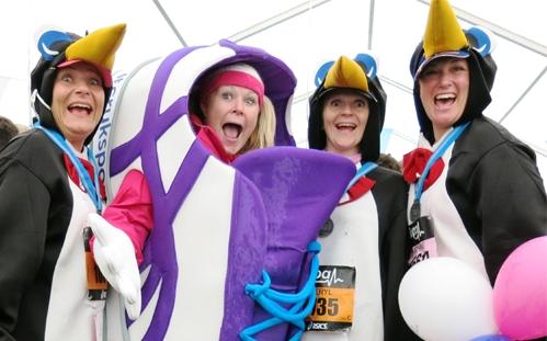 Fundraising for the Virgin Money London Marathon 2015