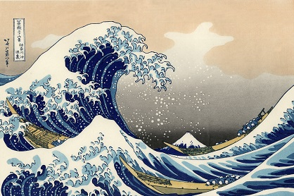 The Great Wave Off Kanagawa