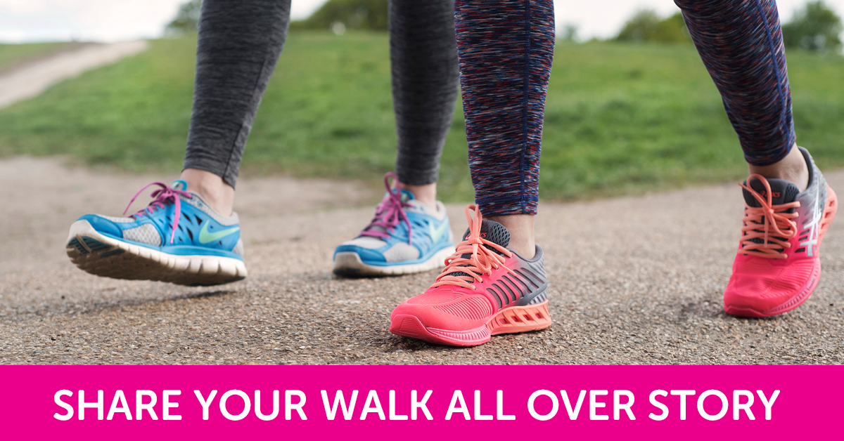 Share your Walk All Over Cancer Story